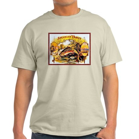 Speckled Trout Cigar Label Light T-Shirt