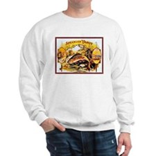 Speckled Trout Cigar Label Sweatshirt