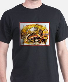Speckled Trout Cigar Label T-Shirt