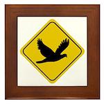 Dove Crossing Sign Framed Tile