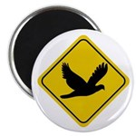 Dove Crossing Sign Magnet