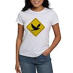 Dove Crossing Sign Women's T-Shirt