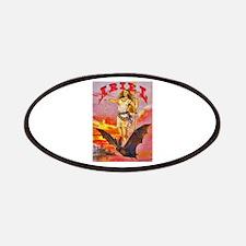 Ariel Bat Girl Cigar Label Patches