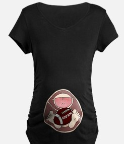 Gig'em Baby in Belly T-Shirt