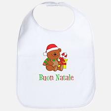 Italian Christmas Baby Bib
