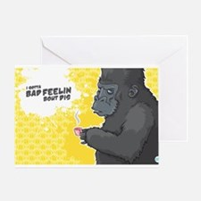 Bollo Greeting Card