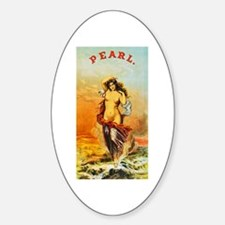 Nude Woman Cigar Label Decal