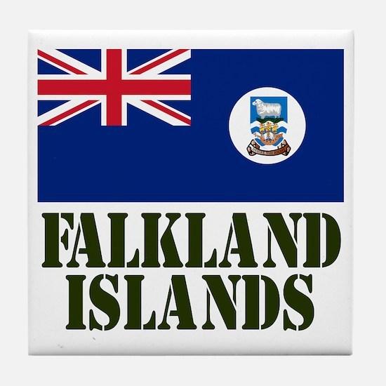 Falklands Badge Tile Coaster