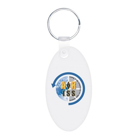ARISS Aluminum Oval Keychain