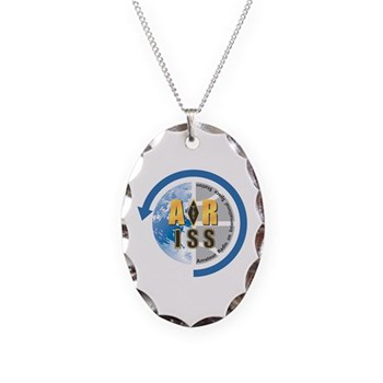 ARISS Necklace Oval Charm