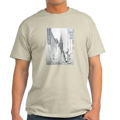 Chrysler Building Ash Grey T-Shirt