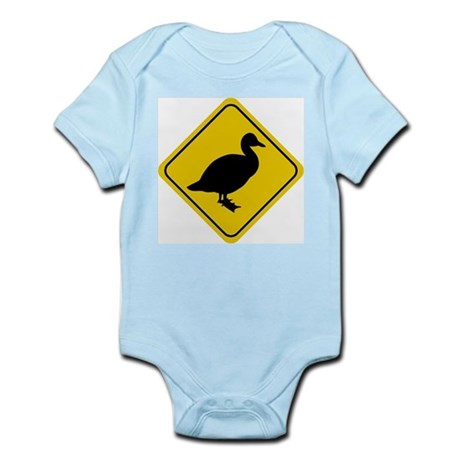 Duck Crossing Sign Infant Creeper