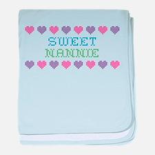 Sweet NANNIE baby blanket