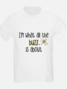 """""""All the Buzz"""" Kids T-Shirt"""