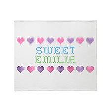 Sweet EMILIA Throw Blanket