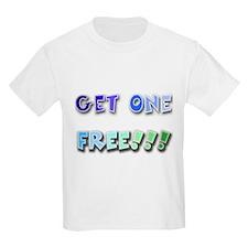 Get One Free Kids T-Shirt