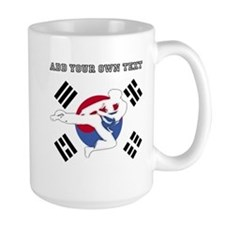 Taekwondo Personalized Coffee Mug