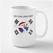 Taekwondo Personalized Large Mug