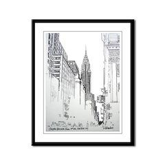 Chrysler Building Framed Panel Print