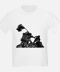 Raising The American Flag T-Shirt