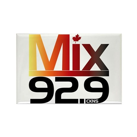 Mix 92.9 Rectangle Magnet