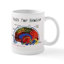 Knit For Brains Mug