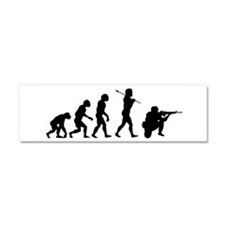 END WAR, Soldier Evolution Car Magnet 10 x 3