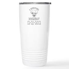 I Survived Doomsday 2012 Travel Mug