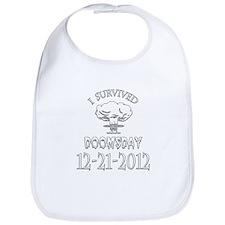 I Survived Doomsday 2012 Bib