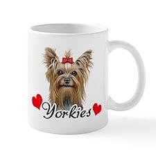 Love Yorkies Mug