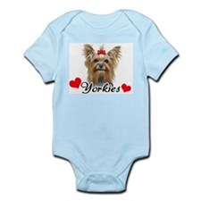 Love Yorkies Infant Bodysuit