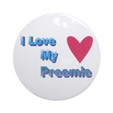 Preemies Ornament (Round)