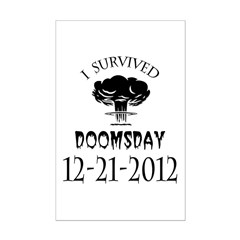 I Survived Doomsday 2012 Blac Posters