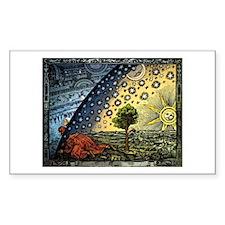 Flammarion Rectangle Decal