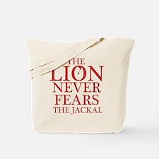 Dexter: Lion vs. Jackal Tote Bag
