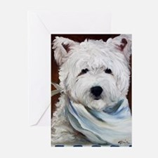 WESTIE DOG Greeting Cards (Pk of 10)