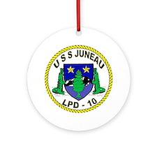 USS Juneau LPD 10 Ornament (Round)