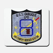 USS Dubuque LPD 8 Mousepad