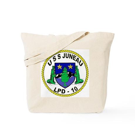 USS Juneau LPD 10 Tote Bag