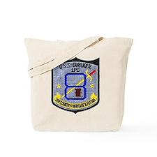 USS Dubuque LPD 8 Tote Bag