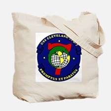 USS Cleveland LPD 7 Tote Bag