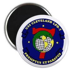 USS Cleveland LPD 7 Magnet
