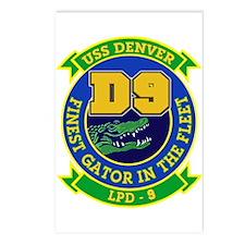 USS Denver LPD 9 Postcards (Package of 8)