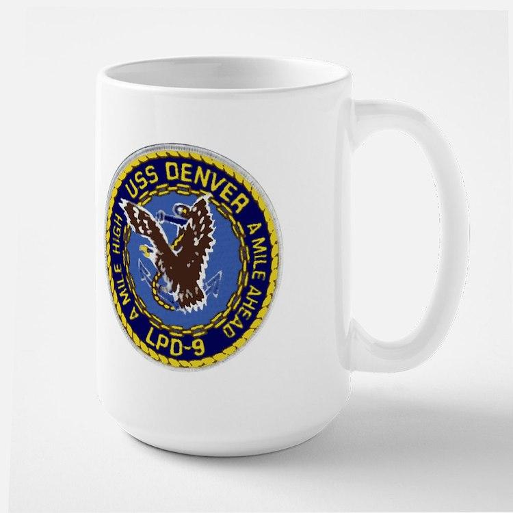 USS Denver LPD 9 Mug