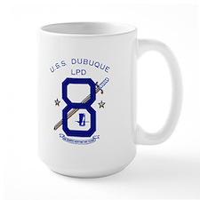 USS Dubuque LPD 8 Mug