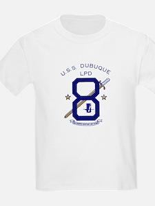 USS Dubuque LPD 8 Kids T-Shirt