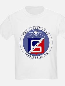 USS Duluth LPD 6 Kids T-Shirt