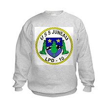 USS Juneau LPD 10 Sweatshirt