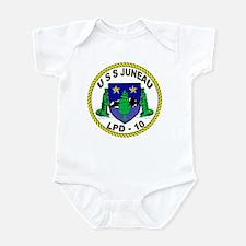 USS Juneau LPD 10 Infant Bodysuit