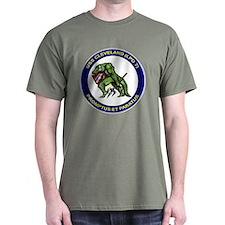 USS Cleveland LPD 7 Black T-Shirt